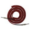 Lava Retro Coil 20 Foot Instrument Cable Straight to Straight Silent Metallic Red