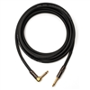 Mogami PLATINUM-GUITAR-03R Platinum TS 1/4' Male to TS 1/4' Angled Male Guitar Cable 3'