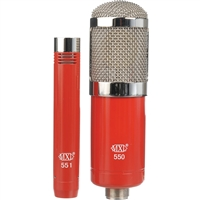 MXL 550/551 Condenser Ensemble Microphone Kit (Red)
