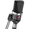 Neumann TLM-102-MT Large Diaphragm Studio Condenser Microphone (Black)