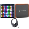 Novation Launchpad RGB MKII w/ Protective Neoprene Sleeve and Stereo Headphones