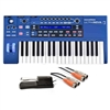 Novation UltraNova Analog Modelling Synthesizer with MID-310BK 10Ft. MIDI Cable and KSP100 Sustain Pedal, NOVULTRANOVA-BUNDLE-1, ULTRANOVA