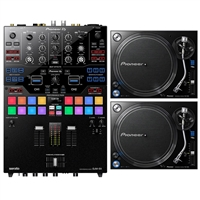 Pioneer DJM-S9 Professional 2-Channel Serato Battle Mixer with Professional Analog Turntable