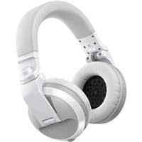 Pioneer DJ HDJ-X5BT-W Bluetooth Over-Ear DJ Headphones (Gloss White)