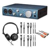 PreSonus AudioBox iTwo Audio Interface with Headphone & Cables