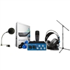 PreSonus AudioBox Studio Vocal Recording/ PodCast Studio Bundle