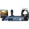 PreSonus Audiobox iTwo Studio USB/iPad hardware/software, Headphones, Mic Recording Kit
