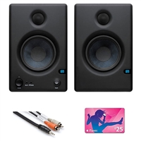 PreSonus E4.5 Eris Monitor pair with Cable and iTunes Gift Card