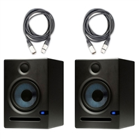 PreSonus Eris E5 5.25-inch 2-Way Nearfield Studio Monitor (Pair) w/ Cables