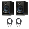 PreSonus Eris E8 8-inch 2-Way Nearfield Studio Monitor (Pair) w/ Cables