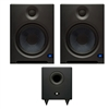 "Presonus Eris E8 High-Definition 2-way 8' Near Field Studio Monitoring Speaker (Pair) with Temblor T8 Active 8"" Studio Subwoofer"