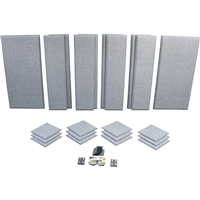 Primacoustic LONDON-12 Room Kit For Up To 150 Sq. Ft. (13.9 Sqm), Grey