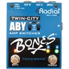 Radial BONESTWINCITY Engineering Twin-City AB/Y Amp Switcher Pedal