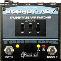 Radial Engineering Bigshot ABY True Bypass Switcher