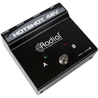 Radial Engineering HotShot 48V Phantom Powered Toggle Switch