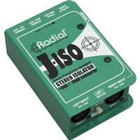 Radial Engineering J-ISO Stereo 4 dB to -10 dB Converter with Jensen Transformers