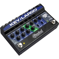 Radial Engineering Key-Largo Keyboard Mixer and Performance Pedal