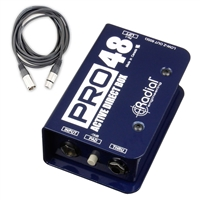Radial Engineering Pro48 - Active Direct Box with Cable