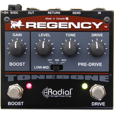Radial Regency Pre-drive and Booster