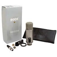 Rode Broadcaster Large-diaphragm Broadcast Condenser Microphone with On-Air Indicator