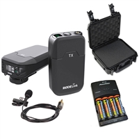 Rode Link Wireless Filmmaker Kit with Battery Charger, Batteries and Case