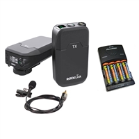 Rode Link Wireless Filmmaker Kit and Battery Charger with Batteries