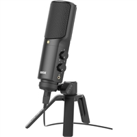 Rode NT-USB Versatile USB condenser microphone with zero latency monitoring and plug & play operation