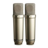 Rode NT1-A Matched Pair Condenser Microphones