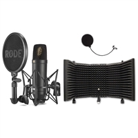 Rode NT1 Kit Condenser Microphone with Microphone Isolation Shield