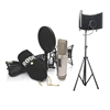 Rode NT2-A Studio Package with SF-101KIT Recording Studio Microphone Isolation Shield and Stand