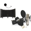Rode NT2-A Cardioid Condenser Microphone Studio Bundle with Microphone Isolation Shield