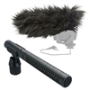 Rode NTG1 Shotgun Microphone w/ Rode Deadcat Wind Muff Mic Cover