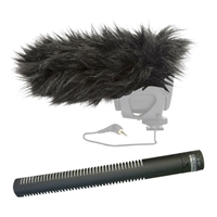 Rode NTG2 Shotgun Microphone w/ Rode Deadcat Wind Muff Mic Cover