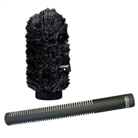 Rode NTG2 Shotgun Microphone w/ Rode WS6 Windscreen