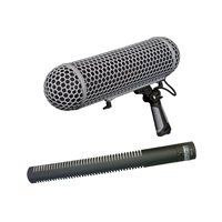 Rode NTG2 Shotgun Microphone w/ Rode Blimp Complete Windshield