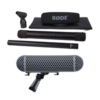 Rode NTG-3 Shotgun Microphone and Rode Blimp