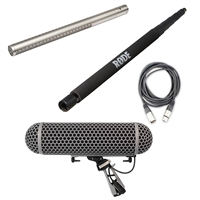 Rode NTG-3 Shotgun Tube Mic and Rode Blimp Shock Mount System