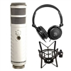 Rode Podcaster USB Dynamic Microphone w/ Shock Mount and AxcessAbles Stereo Headphone