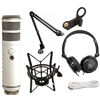 Rode Podcaster Dynamic Mic w/Headphones, PSM1 Shock Mount & PSA1 Studio Boom Arm