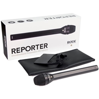 Rode Reporter Omnidirectional Handheld Interview Microphone