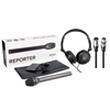 Rode Reporter Omnidirectional Handheld Interview Mic w/ Headphones & XLR Cables