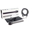 Rode Reporter Omnidirectional Dynamic Interview Microphone w/ 20' XLR Cable