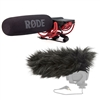 Rode VideoMic Directional Video Condenser Microphone w/Rode Deadcat