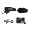 Rode VideoMic Pro R Microphone w/Deadcat VMPR, VC1 Extension cable and VXLR Connector