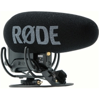 Rode VideoMic Pro+ Premium on-camera Video Shotgun Microphone.