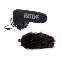 Rode VideoMic Pro Condenser Microphone and Rode Deadcat VMP Wind Muff