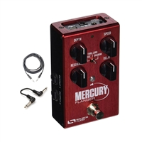 Source Audio SA240 Mercury Flanger Effect Pedal w/ Patch cables and instrument cable