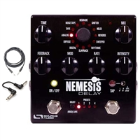 Source Audio SA260 Nemesis Guitar Delay Effects Pedal with Cables