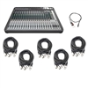 Soundcraft Signature 22 MTK Multi-Track Compact Analogue Mixer with AxcessAbles Cables