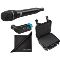 Sennheiser AVX-835 SET-4-US AVX Camera-Mountable Digital Wireless Mic, W/ Case